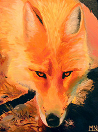 A painting named Firefox